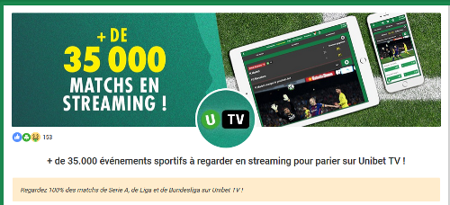 unibet paris sportifs direct