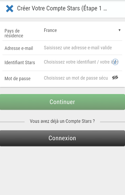 inscription pokerstars sports